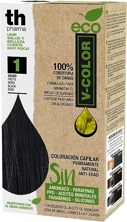 Th Pharma Eco V Color Kit Tinte Nº 1: Amazon.es: Belleza