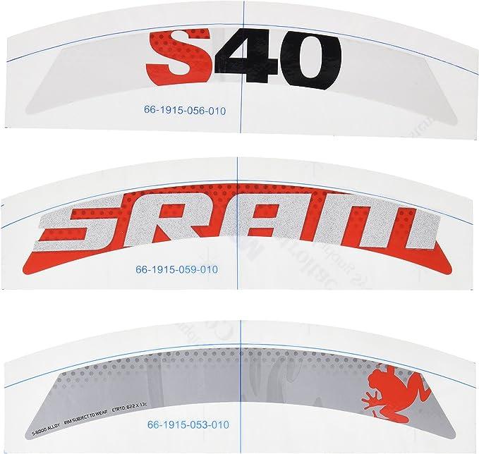 SRAM - Repuesto Pegatinas (Set) S40 (1 Rueda) Rojas: Amazon.es ...