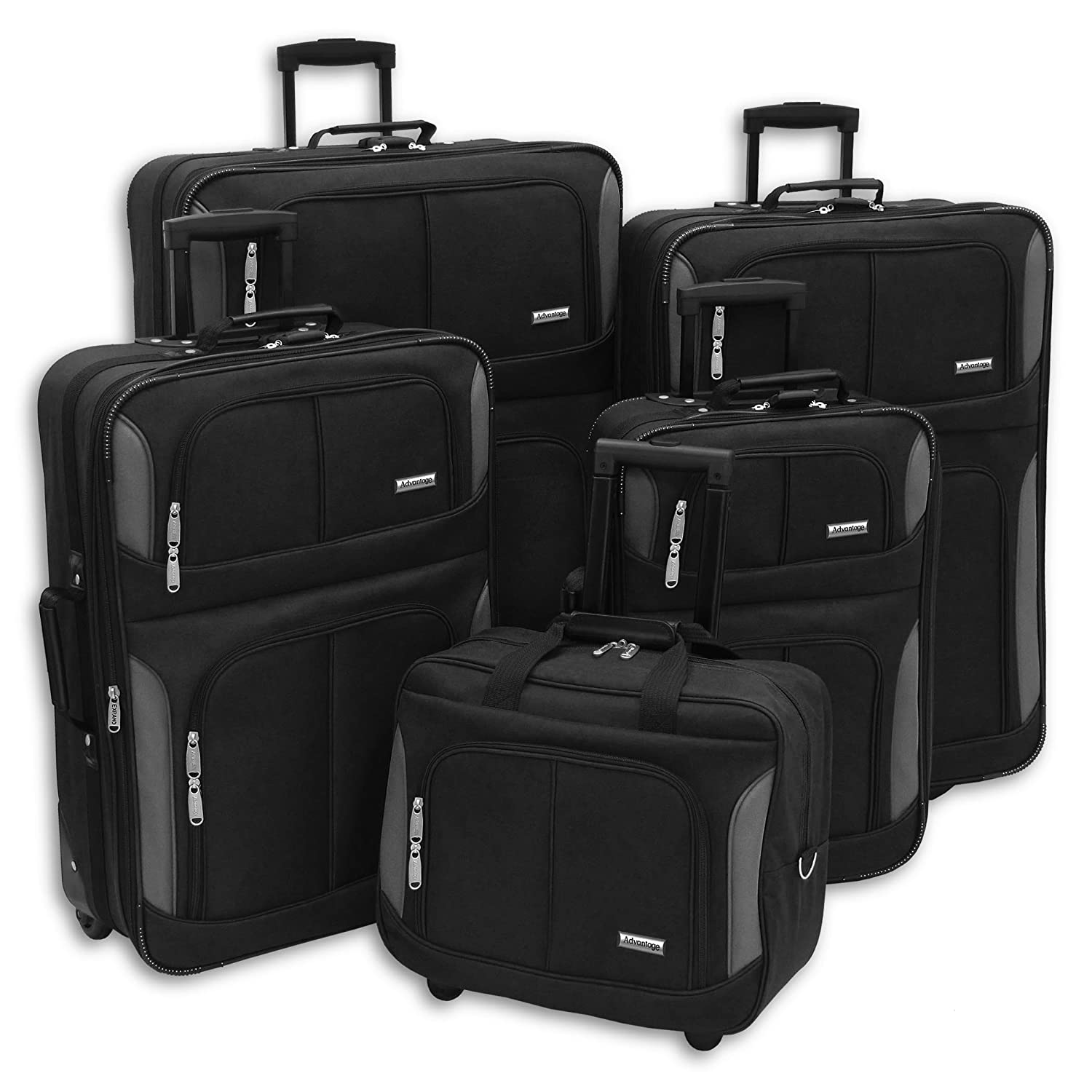 46b5726db8a Amazon.com | American Trunk And Case Luggage Streamline Collection Tote,  Black, One Size | Luggage