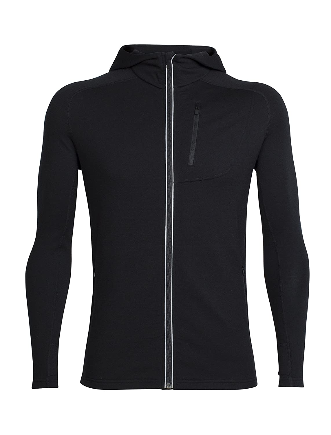 Image of Active Hoodies Icebreaker Merino Quantum Long Sleeve Zip Hoodie