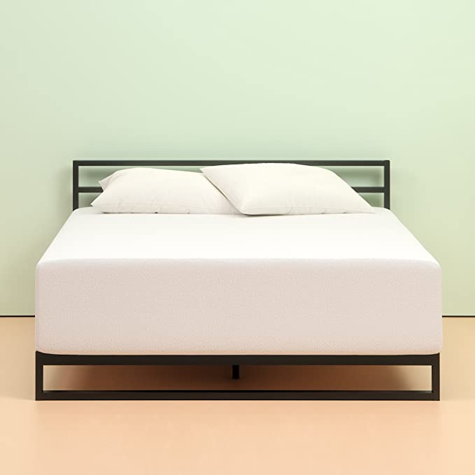 Zinus Memory Foam Green Tea Mattress - Budget's Pick for Slide Sleepers