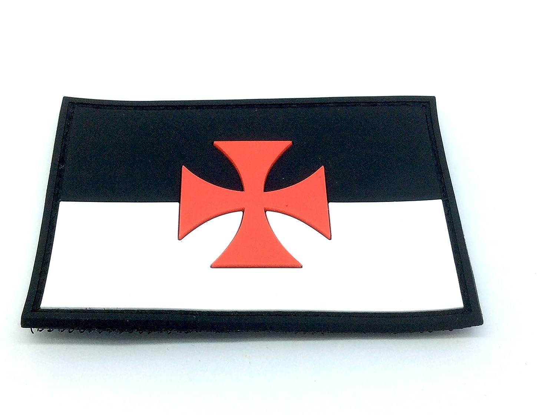 Croce di Malta Cavalieri Templari PVC Patch Morale Toppa Patch Nation