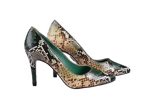 Gel Milan In Verde Sottopiede Decollete Donna Pitone Anna Scarpe w8dPxXfY a95de0c64a5