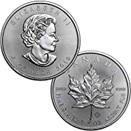 2019 1 Ounce Canadian Silver Maple Leaf $5 Brilliant Uncirculated