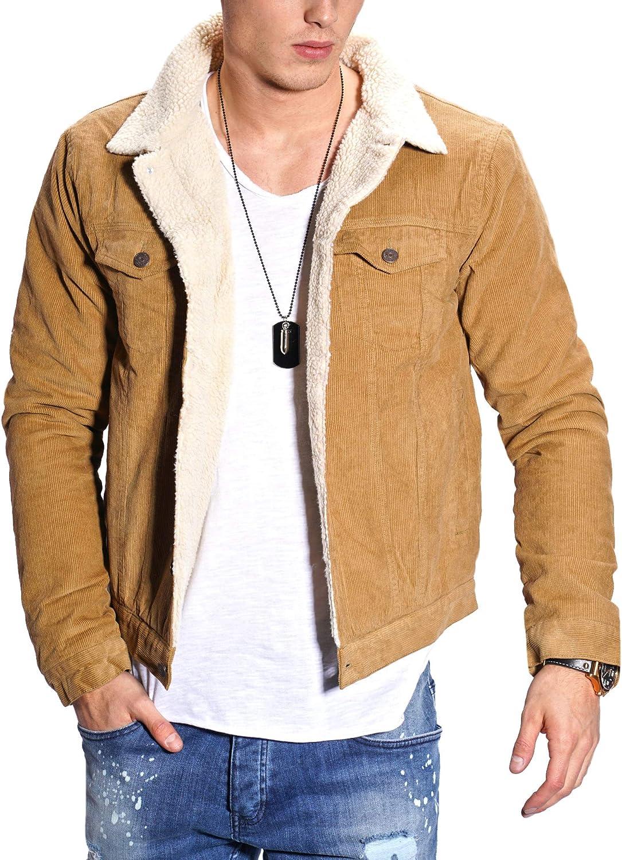 Jeansjacke mit Teddy-Fell gefüttert Sweatjacke Jacke Denim-Shirt Jeans-Hemd NEU