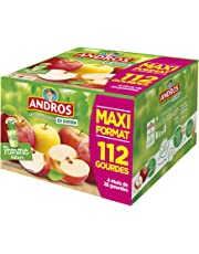 ANDROS Gourdes Pomme Nature 112 x 90 g =10,08 kg