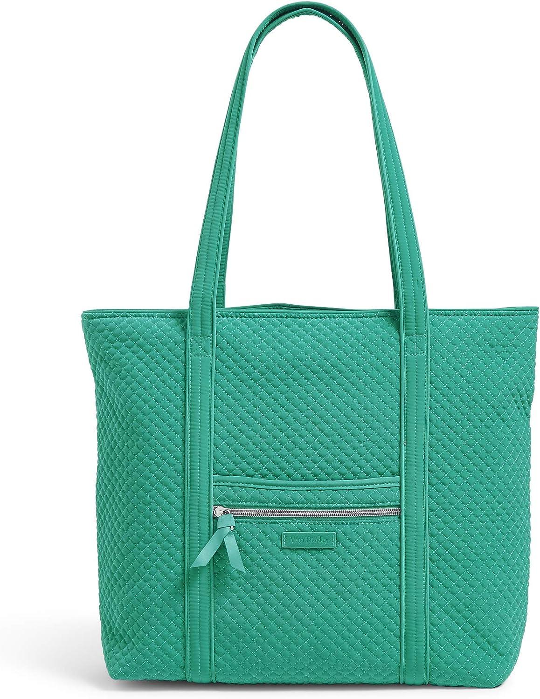 Vera Bradley Microfiber Vera Tote Bag