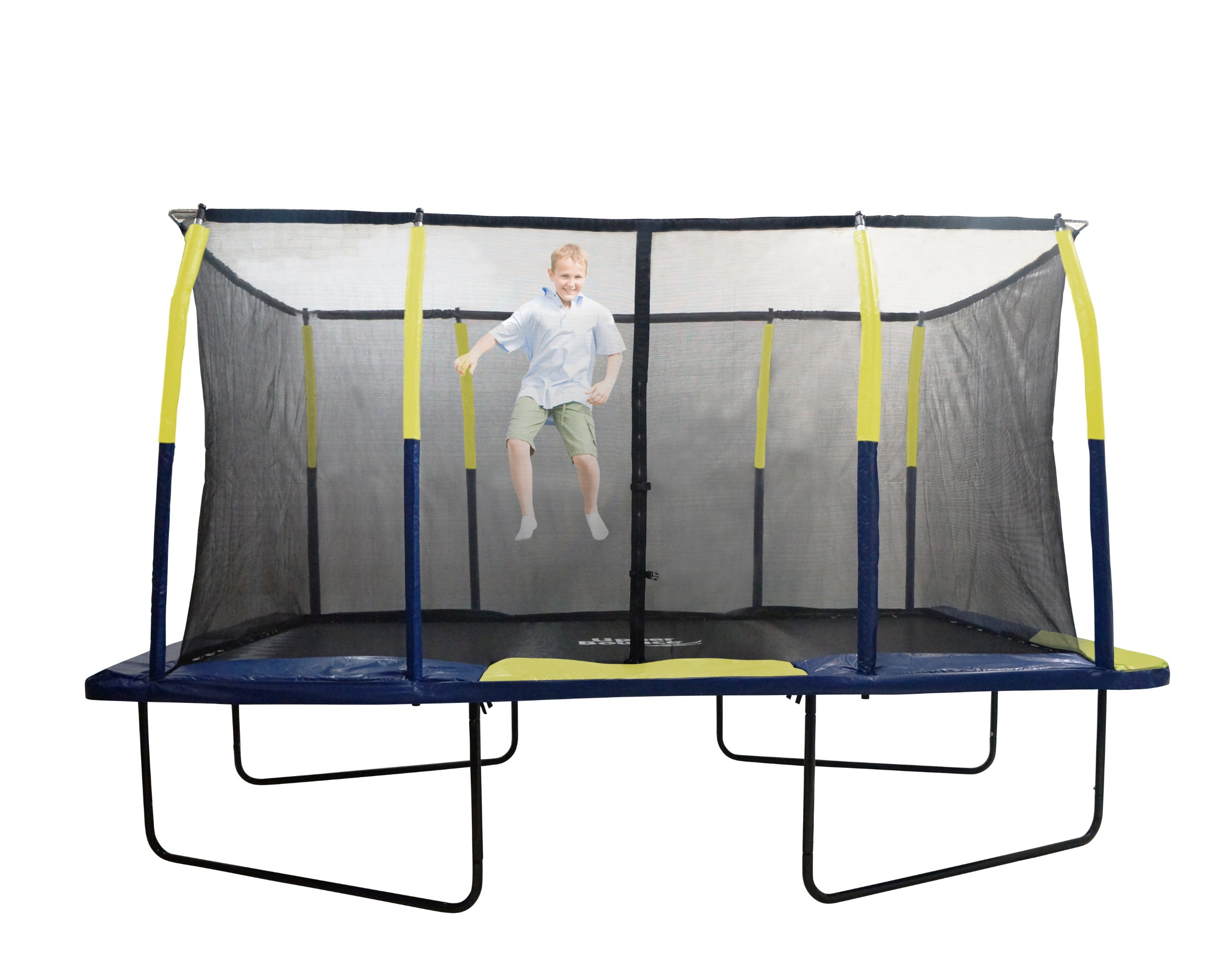 Upper Bounce Easy Assemble Spacious Rectangular Trampoline with Fiber Flex Enclosure Feature, 9 x 15-Feet by Upper Bounce (Image #6)