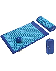 Kit de acupresión Fitem - Esterilla de acupresión + Cojín de acupresión + Bolsa + Bola