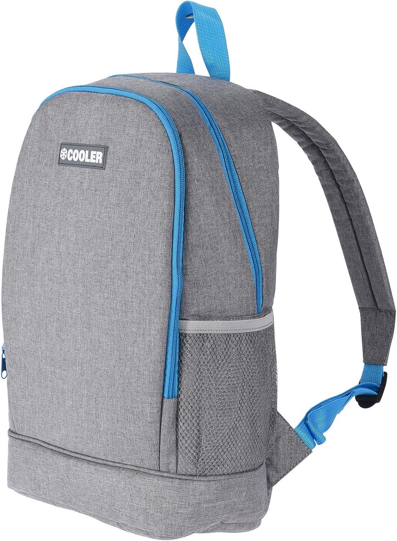 JEMIDI Mochila nevera de 10 litros con función de refrigeración, para camping, aislante, mochila térmica, mochila de senderismo, bolsa refrigeradora