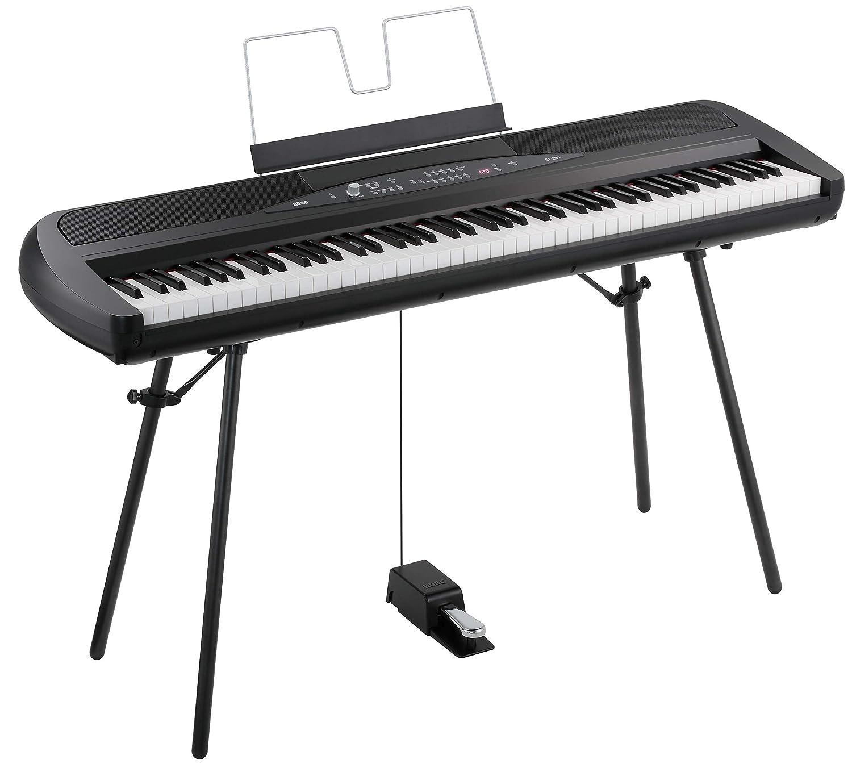 Korg SP280BK 88-Key Digital Piano with Speaker