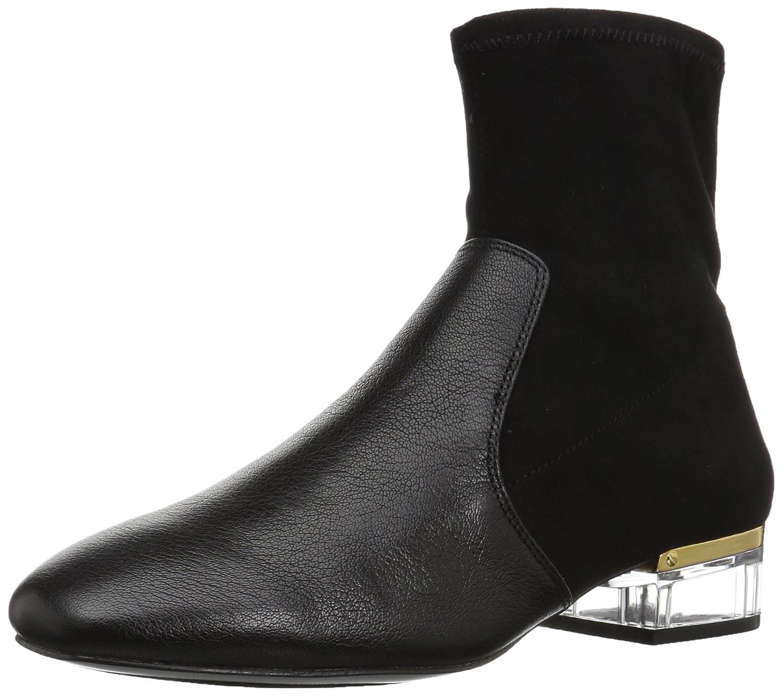 Nine West Women's Urazza Fabric Ankle Boot B01N3CRUUY 9.5 B(M) US|Black/Black