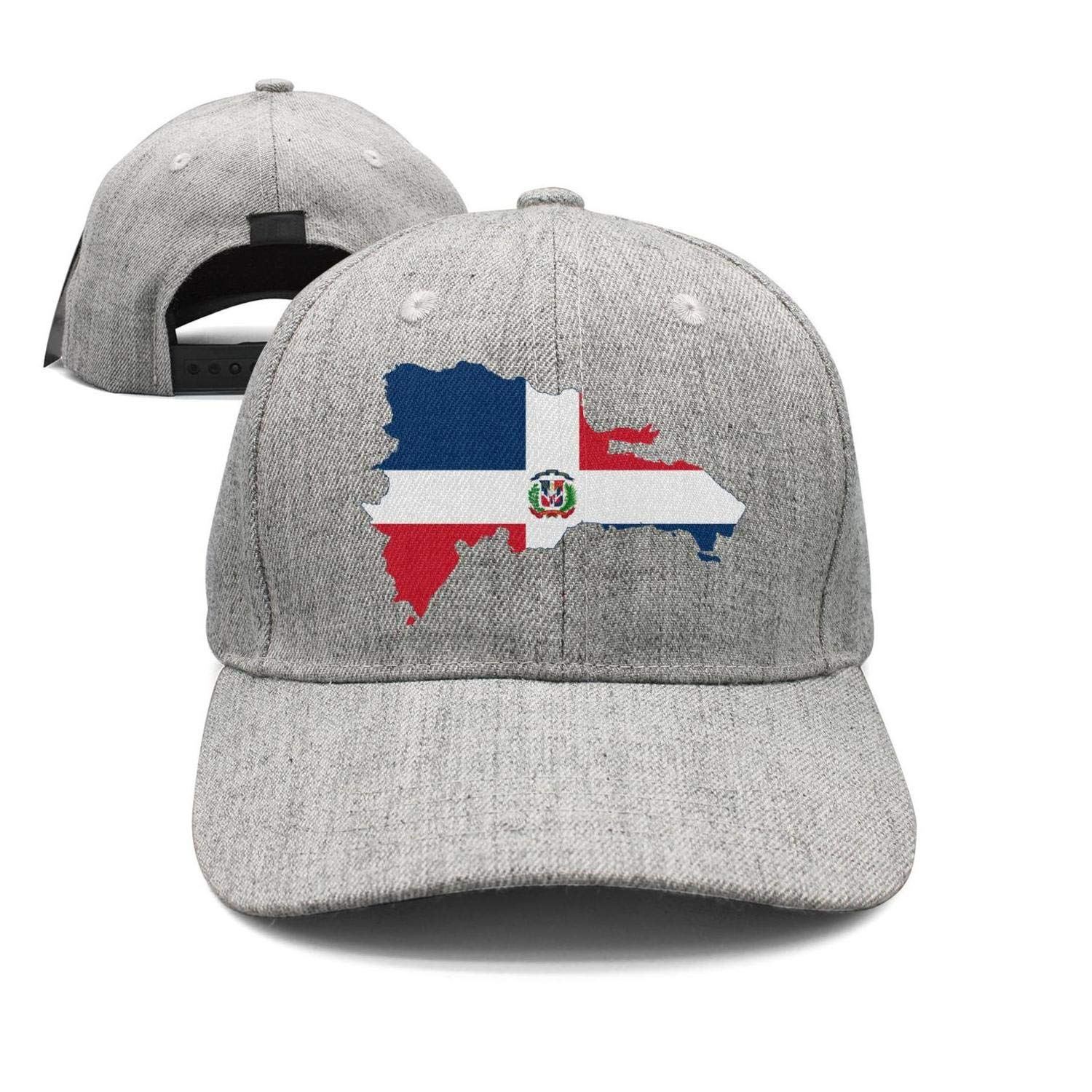 Mens Baseball Cap Flag Map of Venezuela Gray Peak Cap Trucker Hats
