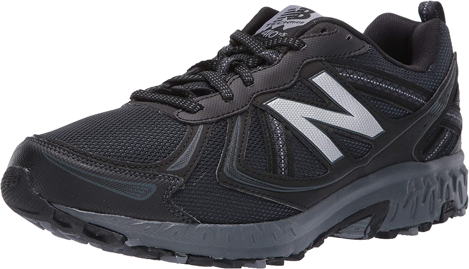 New Balance Men s MT410v5 Cushioning Trail Running Shoe Runner, Medium