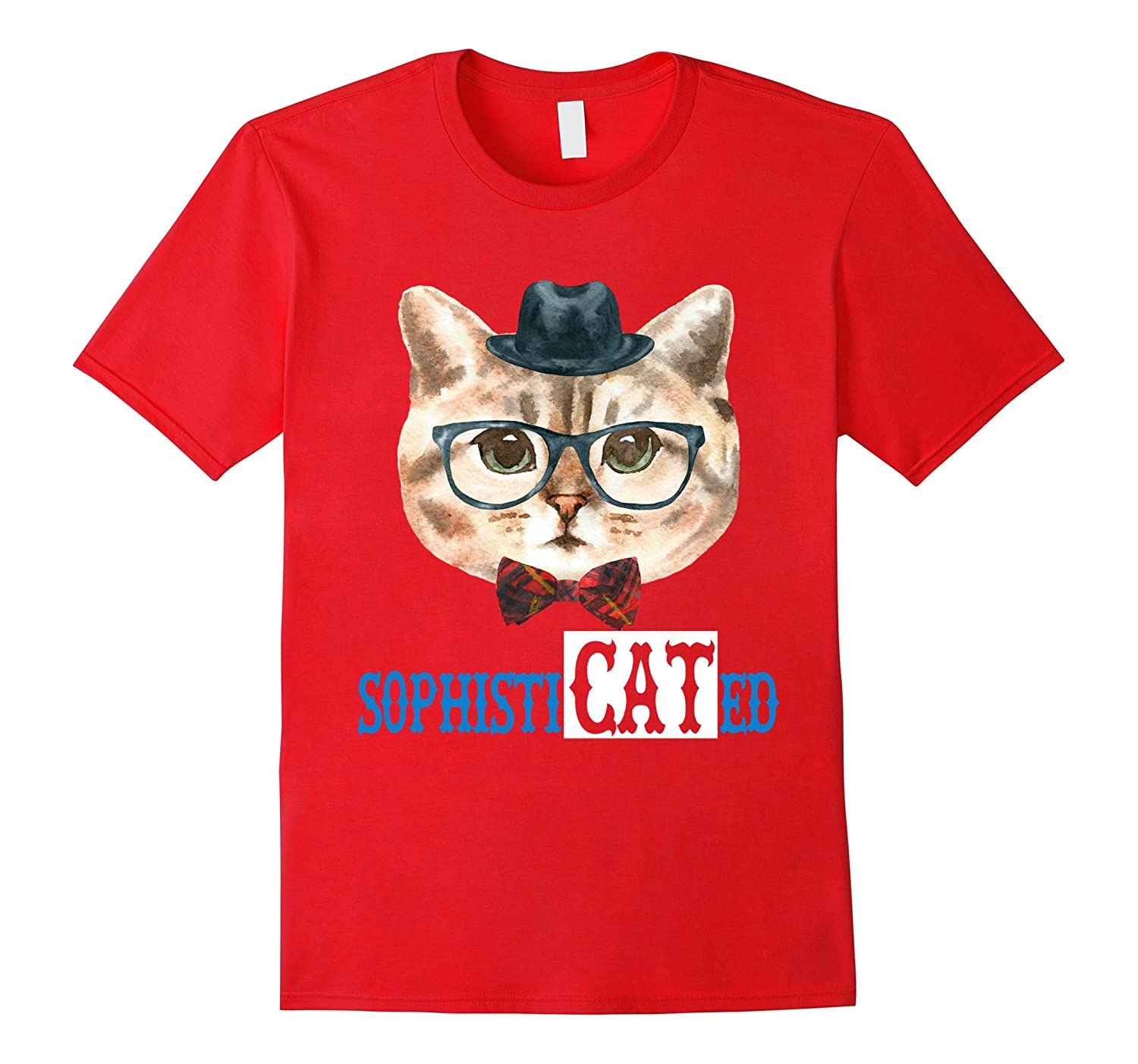 Cat Lovers Shirt - SophistiCATed Tee Shirt-ah my shirt one gift