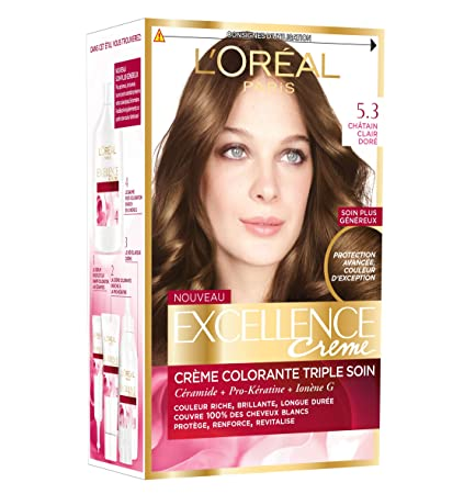 Loréal Paris Excellence Crème Coloration Permanente Triple Soin