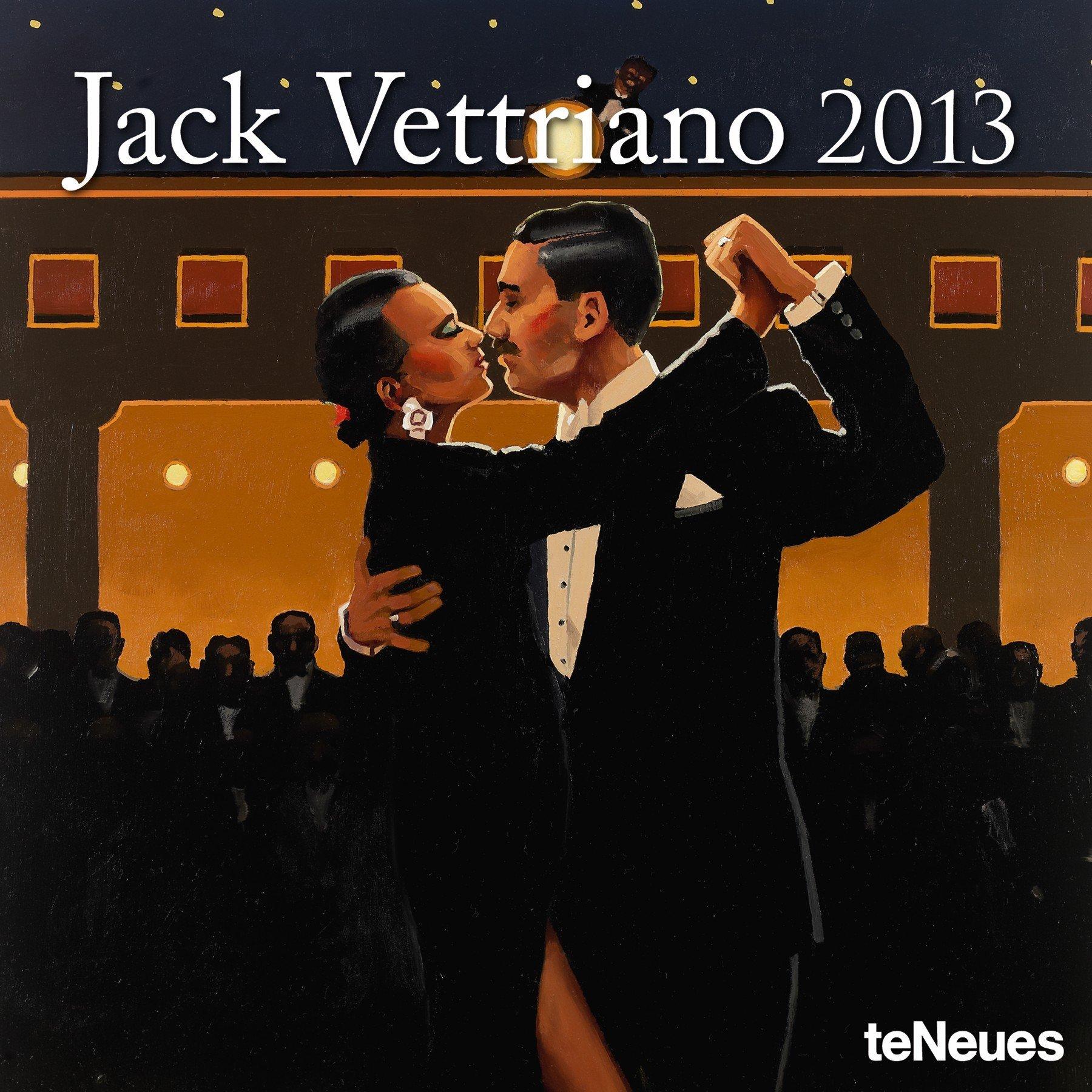 Vettriano 2013 Mini-Broschürenkalender