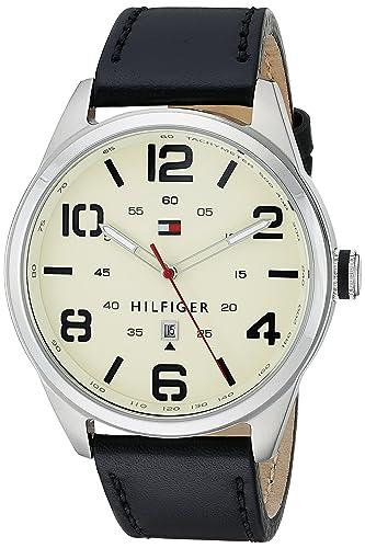 Tommy Hilfiger Men s 1791158 Analog Display Quartz Black Watch