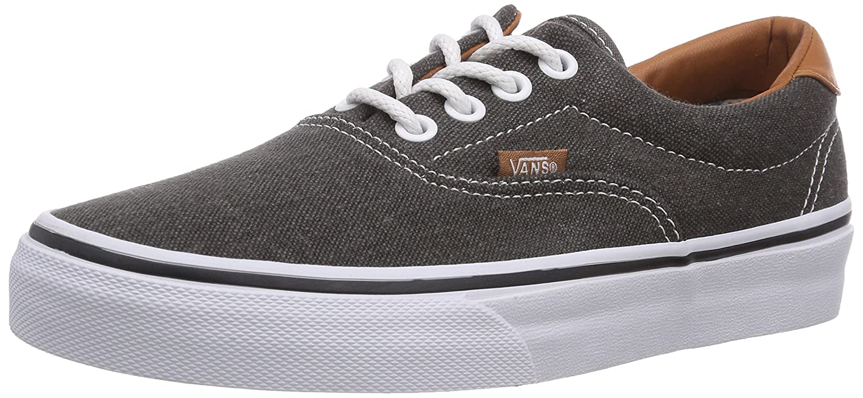 Vans U Era 59, Baskets mode mixte adulte - Noir (Black/Washed), 35 EU