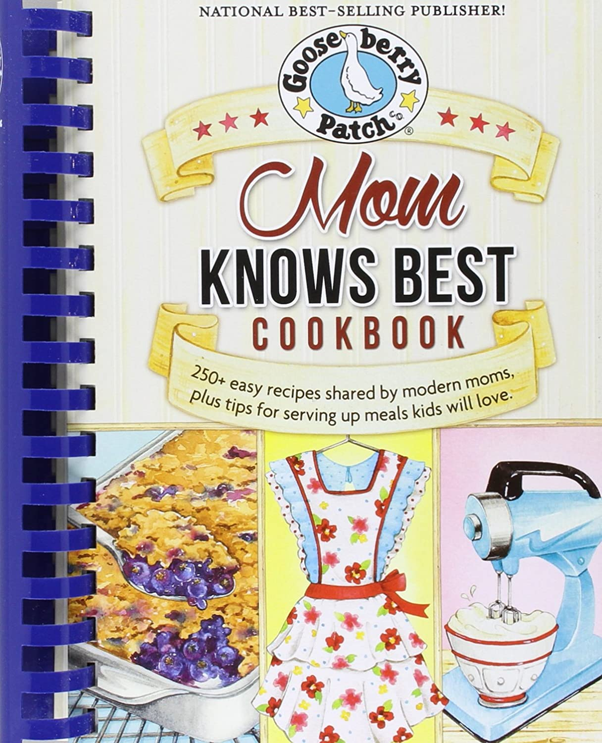 Gooseberry Patch Mom Knows Best Cookbook