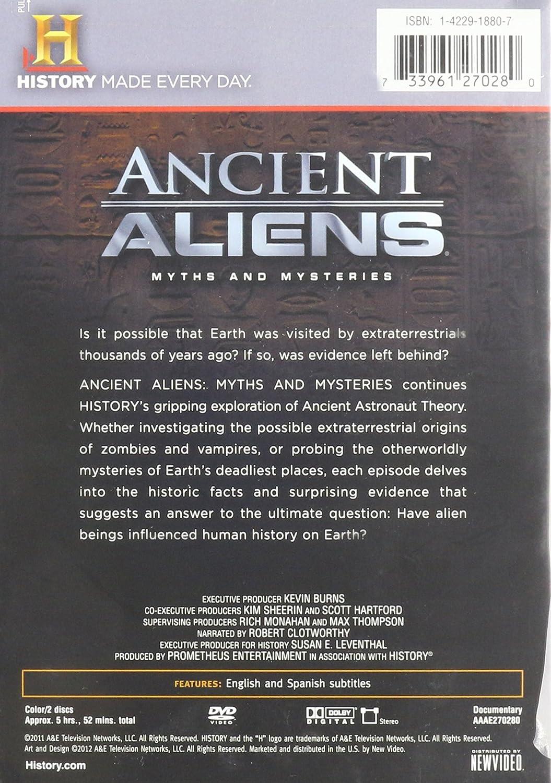 Amazon com: Ancient Aliens -- Season 3: Ancient Aliens S3-Myths