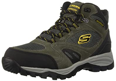 8de07bf907cef Skechers Men s ROLTON-ELERO Hiking Boot Charcoal 7.5 Medium US