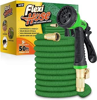 Flexi Hose 50 ft Non-kinking Garden Hose