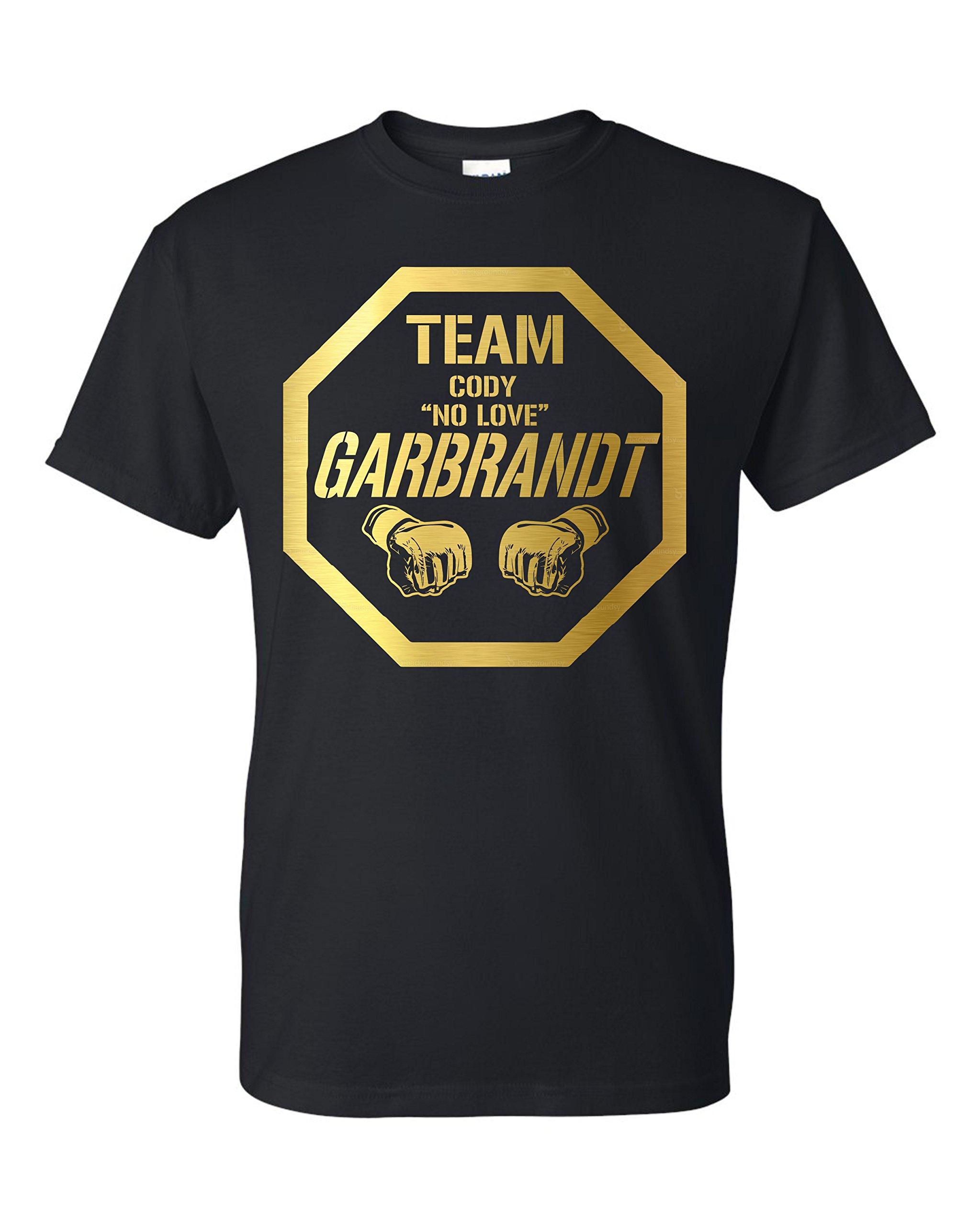 Team No Love Garbrandt Mma Unisex T Shirt