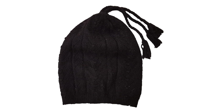 Ralph Lauren Girls Cable-knit Slouchy Angora Hat
