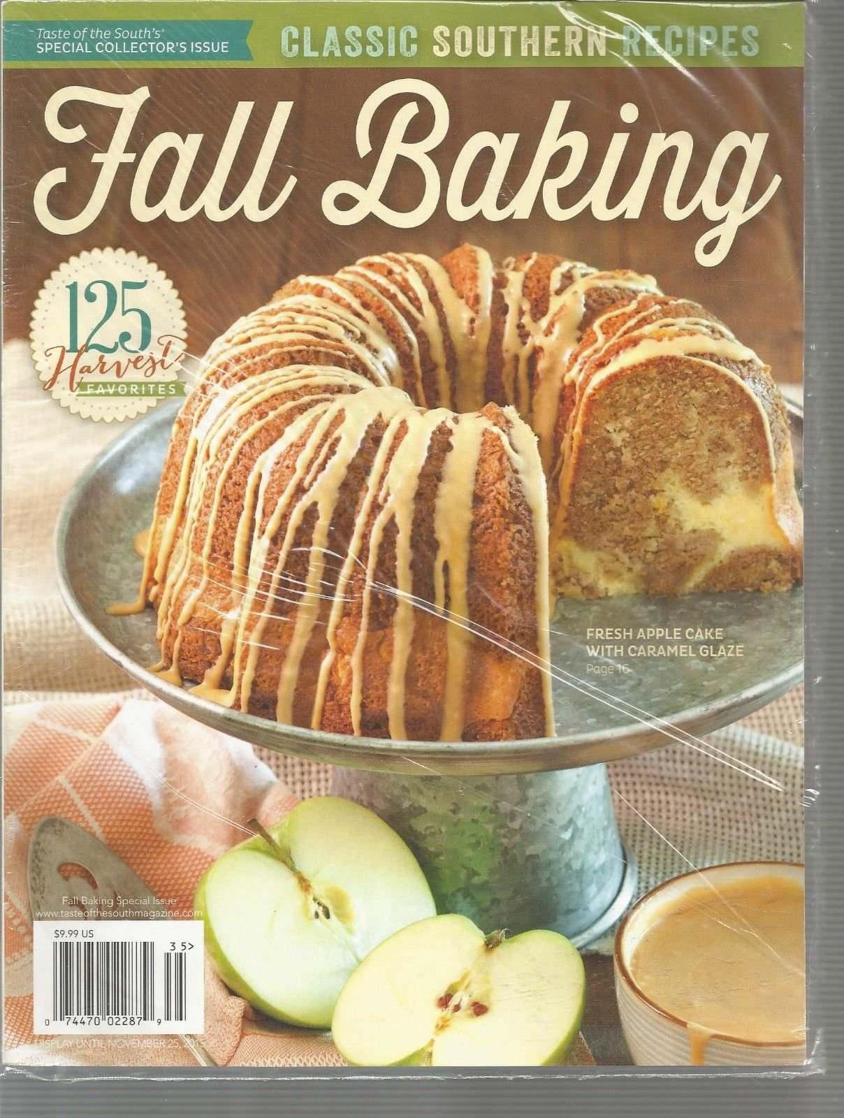 TASTE OF THE SOUTH MAGAZINE,FALL BAKING, SPECIAL ISSUE 2013 ~