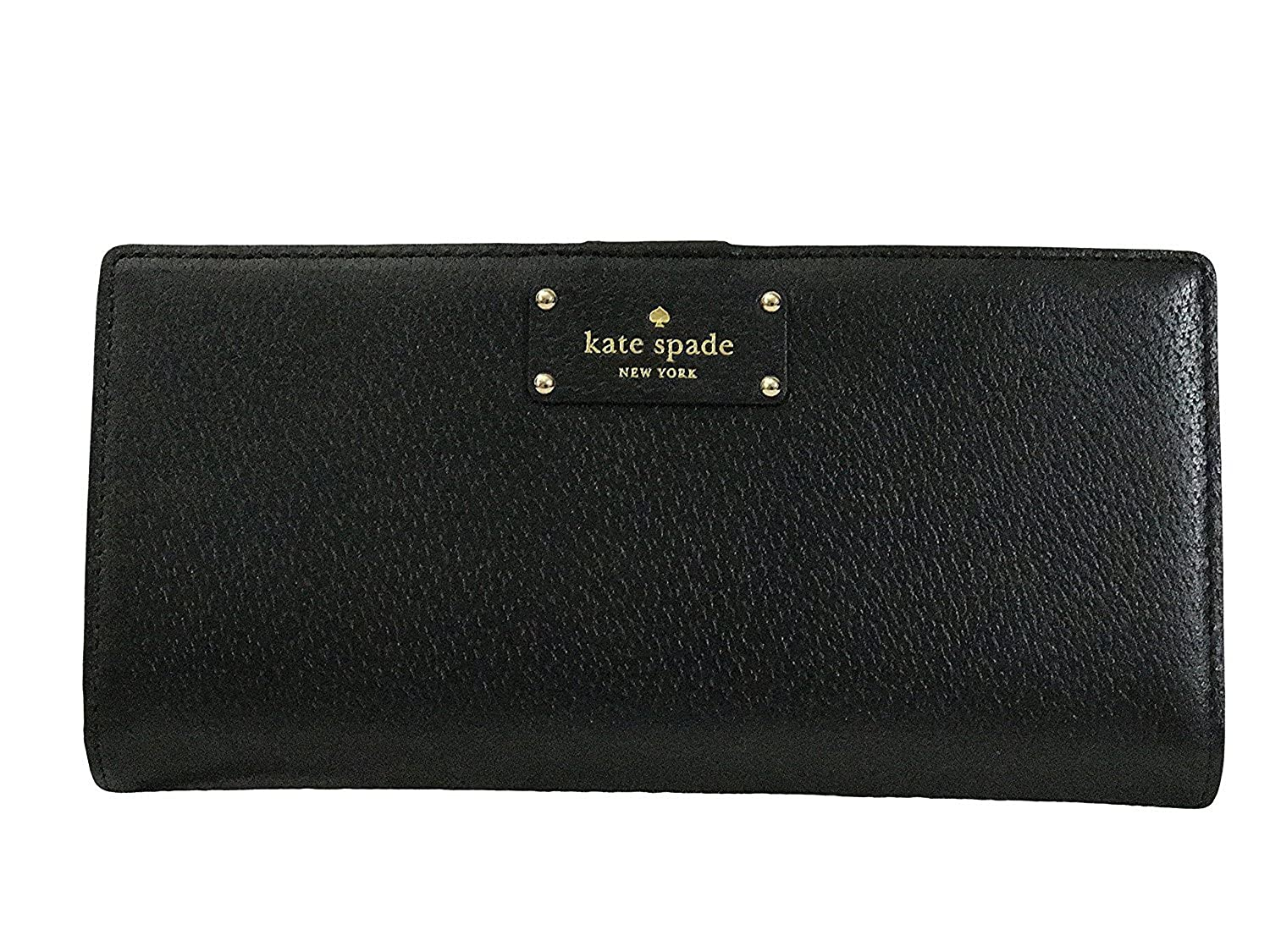 Kate Spade New York Large Stacy Grove Street Leather Wallet (Black) 00_AENSXDPR_02