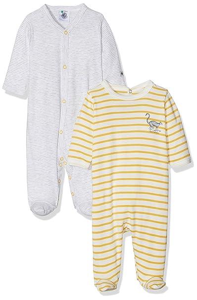 Petit Bateau Lot Db Gar, Camiseta de Pijama para Bebés: Amazon.es: Ropa y accesorios