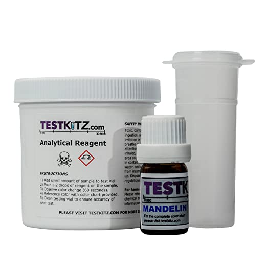 Mandelin Reagent Cocaineketamine Test Kit Amazon Industrial