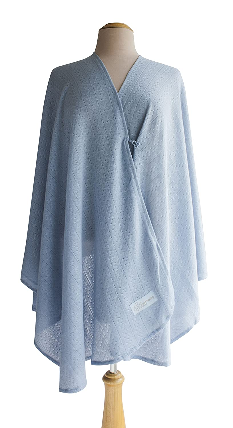 全国宅配無料 Primo Bebitza Textured Knit Knit Nursing Textured Cover, Blue B00L1MZ2GI by Primo B00L1MZ2GI, イタミシ:99348661 --- a0267596.xsph.ru