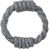 Paws & Pals Dog Chew Toy Rope for Pets Puppy – Cotton Braided Fetch and Teething Play Toy - Various Sizes & Styles