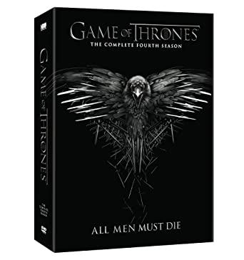 Photograph of Game of Thrones: The Complete Fourth Season DVD cover