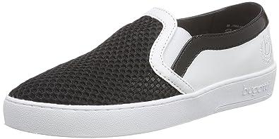 bugattiJ76686N6 - Zapatillas Mujer, Color Negro, Talla 38