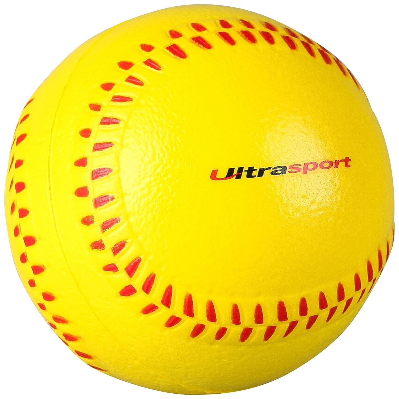 Ultrasport Softball aus Schaumstoff, vielseitig einsetzbar als Antistressball, Fitnessball, Handmuskeltrainer oder Kinderspielzeug ULTBD|#Ultrasport 331500000661
