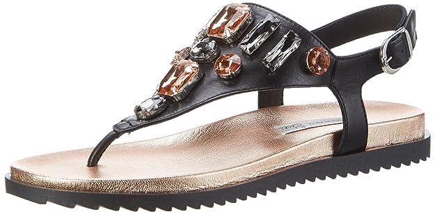 Tosca Blu Shoes Damen Manhattan Zehentrenner, Pink (Rame), 38 EU