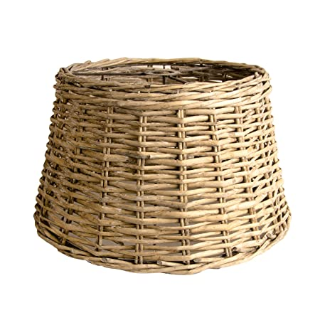 Ceiling lampshade country wicker round basket lamp shade grey washed xl x large ceiling lampshade country wicker round basket lamp shade grey washed xl x large aloadofball Gallery