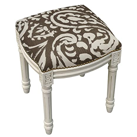 Fantastic Amazon Com 123 Creations Paisley Antique White Finish Alphanode Cool Chair Designs And Ideas Alphanodeonline