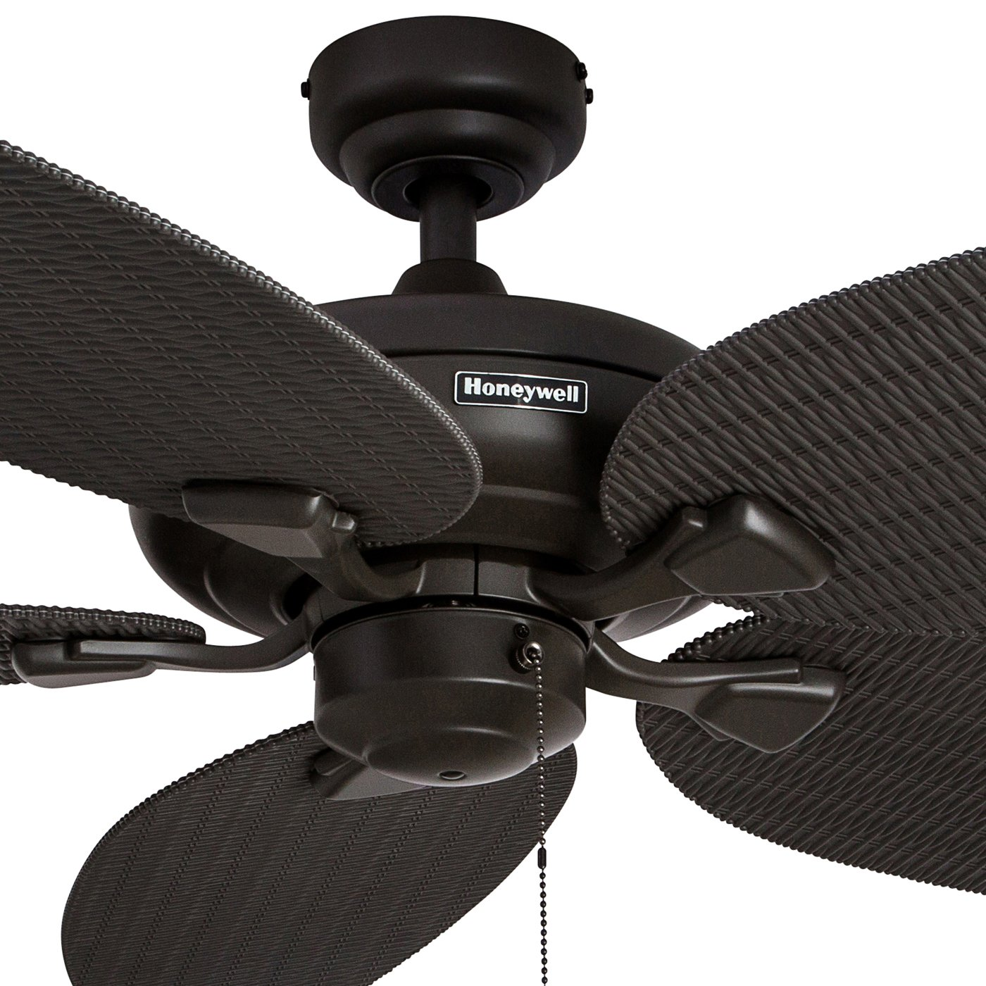 Honeywell Duvall 52 Inch Tropical Ceiling Fan With Five Electric Install Page 4 Wet Rated Wicker Blades Indoor Outdoor Bronze Home Improvement
