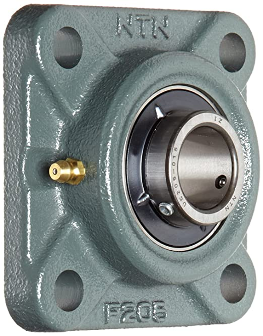 3440 Static Load Capacity 2 Bolts NTN AELFD207-104 Light Duty Flange Bearing Non-Relubricatable 3-11//16 Height 1-1//4 Bore Inch Cast Iron Contact Seals Eccentric Lock 3-15//16 Bolt Hole Spacing Width