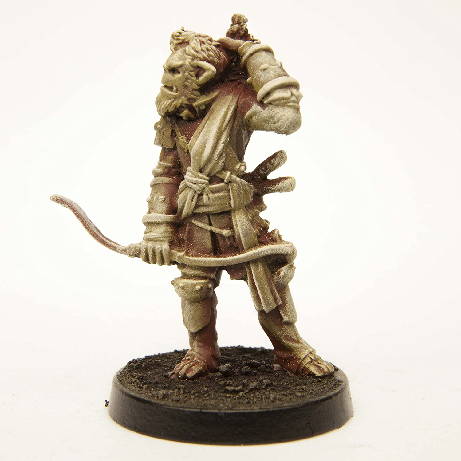 for 28mm Scale Table Top War Games Stonehaven Half-Orc Archer Miniature Figure Made in USA