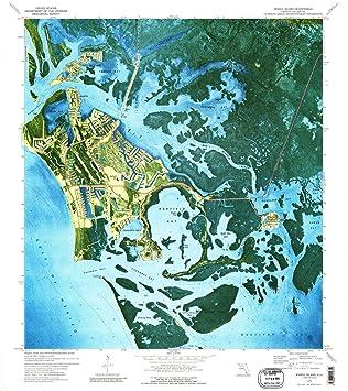 Amazon.com : YellowMaps Marco Island FL topo map, 1:24000 ...
