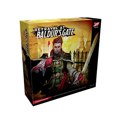 Avalon Hill Betrayal at Baldur's Gate Board Game: Toys & Games