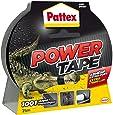 Pattex - Adhésif - Power Tape - Imperméable - 25 mtr - Noir