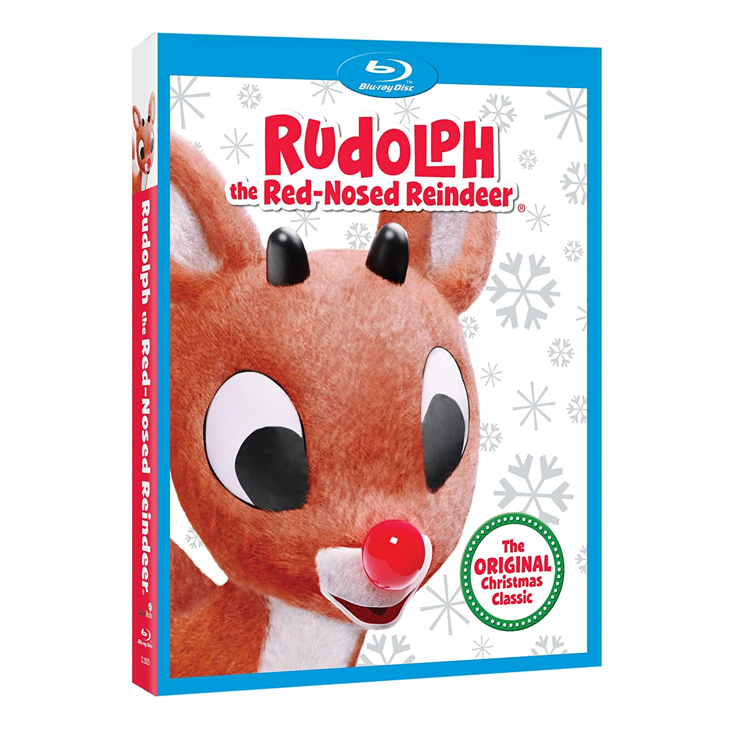 Amazon.com: Rudolph the Red-Nosed Reindeer [Blu-ray]: Billie Mae Richards,  Burl Ives, Paul Soles, Larry D. Mann, Stan Francis, Paul Kligman, Janis  Orenstein ...