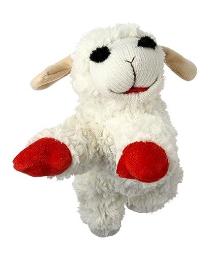 Amazon Com Multipet Plush Dog Toy Lambchop Pet Supplies