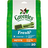 GREENIES Fresh Natural Dental Dog Treats, 12 oz. Pack
